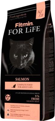 Корм для кошек Fitmin For Life Salmon (400г)