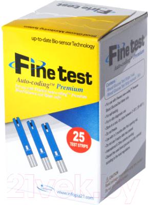 Тест-полоски Infopia Finetest Auto-Coding Premium (25шт)