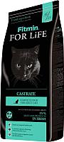 Корм для кошек Fitmin For Life Castrate (8кг) -