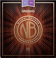 Струны для акустической гитары D'Addario NB1152 -