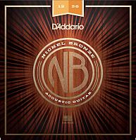Струны для акустической гитары D'Addario NB1256 -