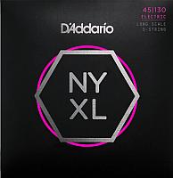 Струны для бас-гитары D'Addario NYXL45130 -