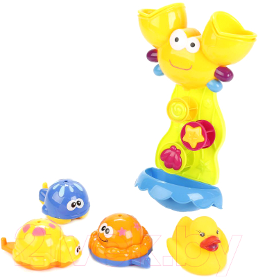 Набор игрушек для ванной Умка Мельница / ZY116356-R
