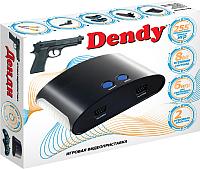 Игровая приставка Dendy 255 игр + световой пистолет -