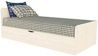 Односпальная кровать Интерлиния Анеси-3  (вудлайн) -