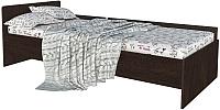 Односпальная кровать Интерлиния Анеси-4 (дуб венге) -