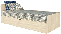 Односпальная кровать Интерлиния Анеси-3 (дуб молочный) -