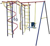 Игровой комплекс Пионер Вираж со спиралью -