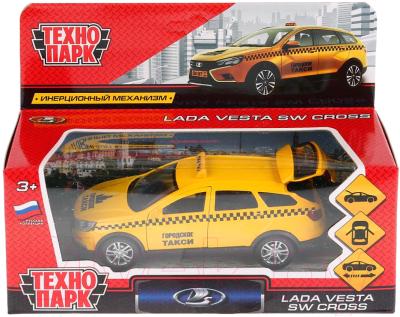 Автомобиль игрушечный Технопарк Lada Vesta SW Cross. Такси / VESTA-CROSS-T