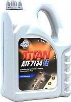 Трансмиссионное масло Fuchs Titan ATF 7134 FE / 601411236 (5л, синий) -