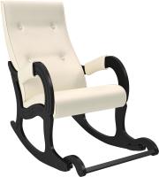 Кресло-качалка Импэкс 707 (венге/Dundi 112) -