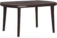 Стол пластиковый Keter Elise Jardin / 236000 (коричневый) -