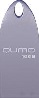 Usb flash накопитель Qumo Cosmos 16GB Silver / QM16GUD-Cos -