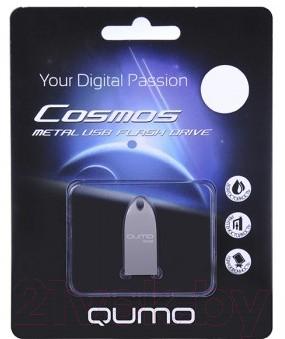 Usb flash накопитель Qumo Cosmos 32GB Silver / QM32GUD-Cos