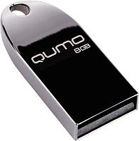 Usb flash накопитель Qumo Cosmos 8GB 2.0 Dark / QM8GUD-Cos -