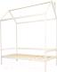 Стилизованная кровать детская Можга Домик Р424 (белый) -