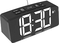 Радиочасы Ritmix RRC-1830 (черный) -