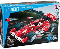 Конструктор инерционный CaDa Автомобиль гоночный / C52016W (144эл) -