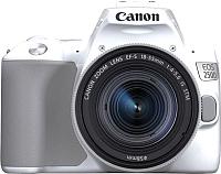 Зеркальный фотоаппарат Canon EOS 250D Kit EF-S 18-55mm IS STM / 3458C001 (белый) -