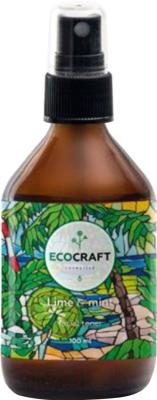 Тоник для лица EcoCraft Лайм и мята для жирной и проблемной кожи (100мл)