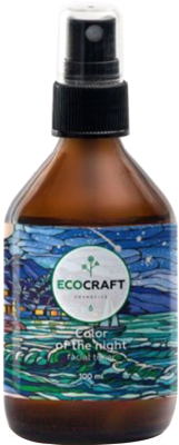 Тоник для лица EcoCraft Цвет ночи для нормальной и сухой кожи (100мл)