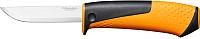 Нож строительный Fiskars 1023618 (с точилкой) -