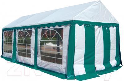 Торговая палатка Sundays P36201G (White-Green) - общий вид