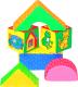 Развивающая игрушка Мякиши Кубики Домики / 54 -