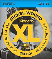Струны для электрогитары D'Addario EXL-110+ -