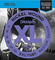 Струны для электрогитары D'Addario EXL-115BT -