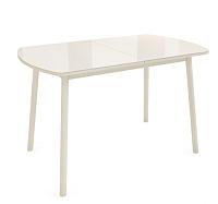 Обеденный стол Listvig Винер G 120-152x70 (кремовый) -