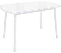 Обеденный стол Listvig Винер Mini 94-126x64 (белый) -