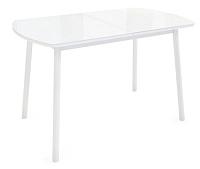 Обеденный стол Listvig Винер 120-152x70 (белый) -