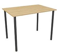Обеденный стол Listvig Слим 110x70 (дуб/графит) -