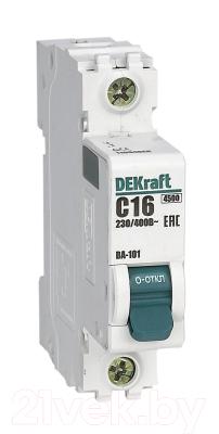 Выключатель автоматический Schneider Electric DEKraft 11006DEK