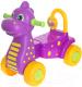 Каталка детская Альтернатива Дракон М3898 / 1100043 (фиолетовый) -