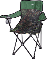 Кресло складное Ника Премиум 5 / ПСП5 (дуб/зеленый) -
