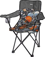 Кресло складное Ника Премиум 6 / ПСП6 (камни/серый) -