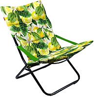 Кресло складное Ника Haushalt / ННК4Р/L (лимон) -