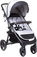 Детская прогулочная коляска 4Baby Quick (Light Grey) -