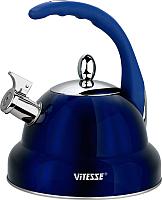 Чайник со свистком Vitesse VS-1117 (синий) -