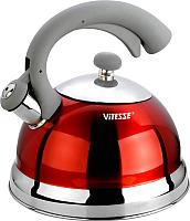 Чайник со свистком Vitesse VS-1116 (красный) -