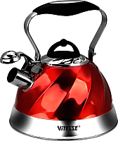 Чайник со свистком Vitesse VS-1119 (красный) -