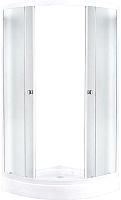 Душевой уголок Avanta 111/2 (серое стекло) -
