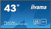 Информационная панель Iiyama ProLite LE4340UHS-B1 -
