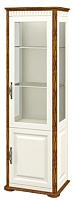 Шкаф с витриной Мебель-Неман Марсель МН-126-11 (крем/дуб кантри) -