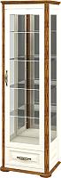 Шкаф с витриной Мебель-Неман Марсель МН-126-12 (крем/дуб кантри) -