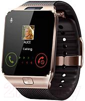 Умные часы D&A DZ09 (золото/черный) -