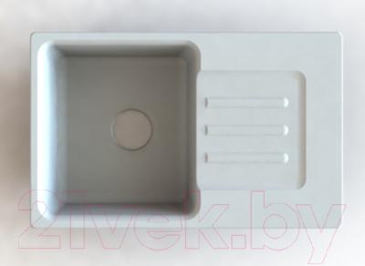 Мойка кухонная GranFest Smart 680 (белый)