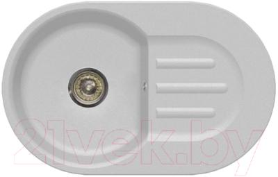Мойка кухонная GranFest Smart 685 (белый)